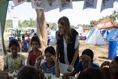 """Niños centroamericanos migrantes dicen """"En México, podemos dormir tranquilos"""""""