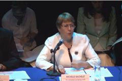 Declaración de la Alta Comisionada de las Naciones Unidas para los Derechos Humanos, Michelle Bachelet,  sobre su visita a México