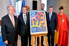 El Secretario General de las Naciones Unidas y autoridades suizas conmemoraron el centenario de la OIT