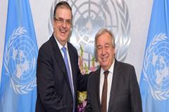 México presenta el Plan de Desarrollo para Centroamérica y solicita un coordinador para el trabajo de la ONU