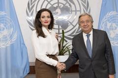 Angelina Jolie elogia la humanidad y los esfuerzos de Colombia con los refugiados y migrantes venezolanos