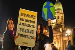 Jóvenes contra el cambio climático: de la convicción a la palabra y de la palabra a la acción