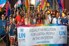 Unos 70 países aún criminalizan las relaciones entre personas del mismo sexo