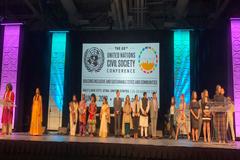 Conferencia de la ONU para la Sociedad Civil concluyó con un pacto juvenil contra el cambio climático