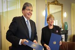 La Oficina del Alto Comisionado de Naciones Unidas para los Derechos Humanos saluda el nuevo acuerdo con Colombia