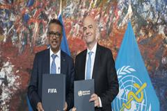 La OMS y la FIFA forman equipo en pro de la salud por medio del fútbol