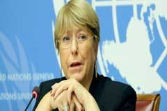 Bachelet pide que se alivien las sanciones para facilitar a los sistemas sanitarios la lucha contra el COVID-19 y limitar el contagio a escala mundial