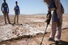Chile cumple la Convención y finaliza operaciones de eliminación de minas antipersonal