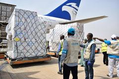 UNICEF distribuye suministros vitales a más de 100 países como respuesta a COVID-19
